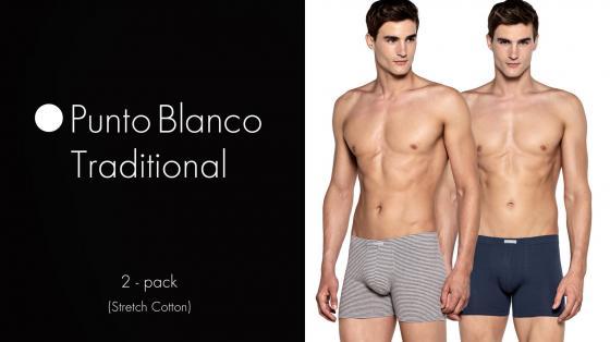 Punto Blanco 2p Boxer Briefs - Traditional