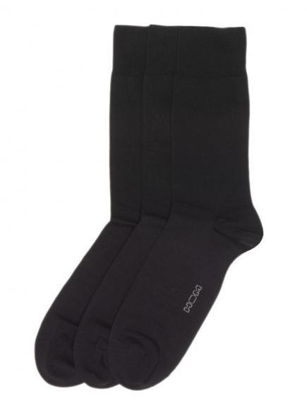 HOM Socks 3-pack (fil d'ecosse) multiple colors