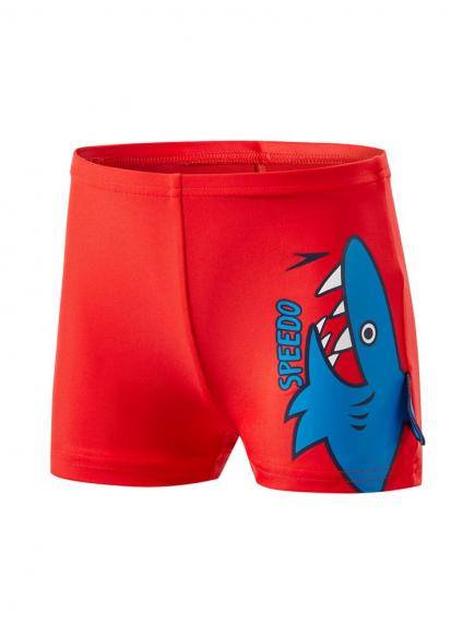 Speedo E10 Fin Friends Aquashort Rood
