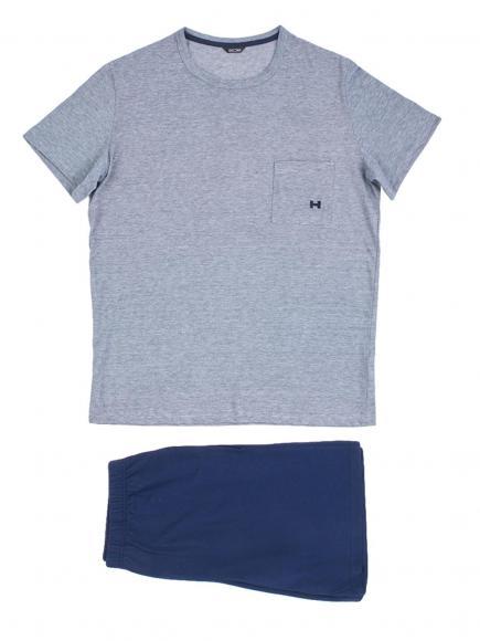 HOM Short Sleepwear - Comfort Blauw