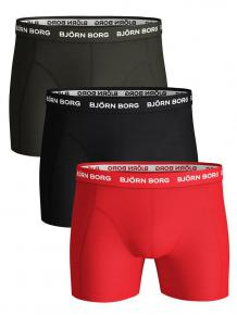 Björn Borg Ess. Cotton Shorts 3-pack