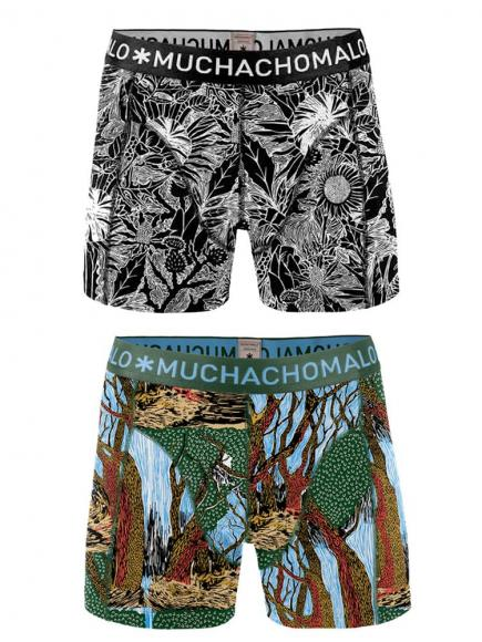 MuchachoMalo Boys 2-pack Short print
