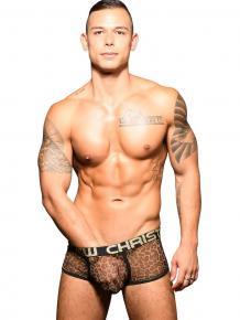 Andrew Christian Sheer Leopard - Boxer