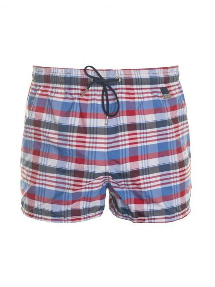 HOM Chateau Beach Shorts Rood