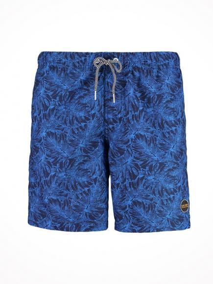 Shiwi Zwemshort 2-tone Leaves Blauw