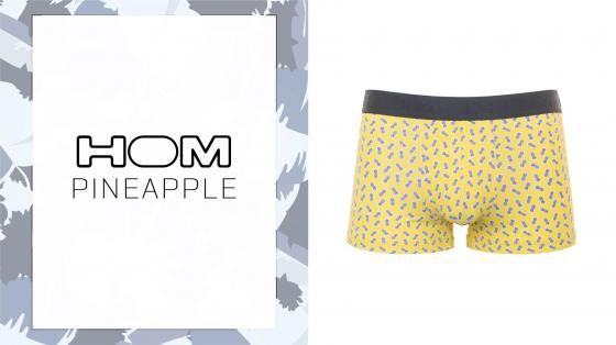 HOM Boxer Briefs - Pineapple