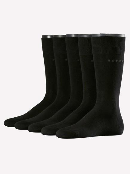 Esprit Uni 5-PACK Zwart