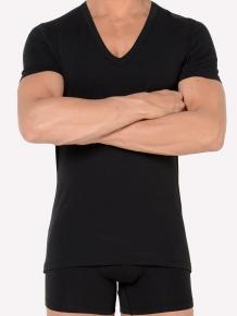 HOM Smart Cotton Shirt V-Neck