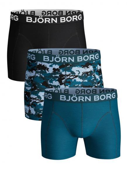 Bj�rn Borg Core Shorts 3-pack Groen