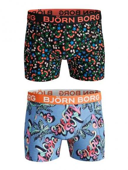 Bj�rn Borg Core Shorts - 2 pack Blauw
