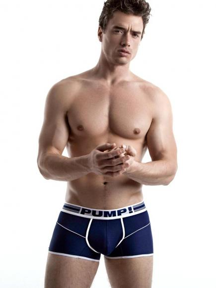 PUMP! Free-fit Boxer - Navy multi-color