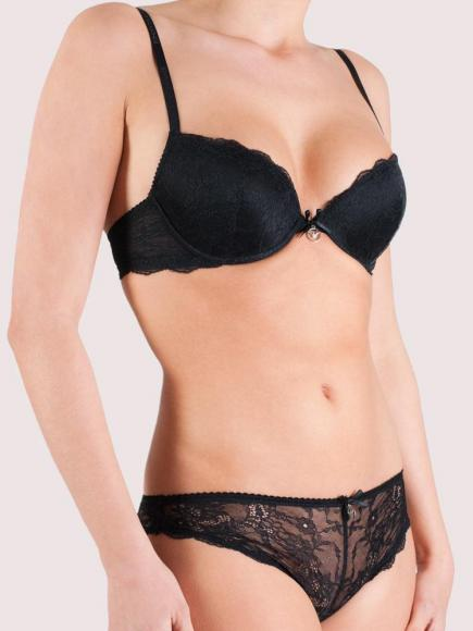 Emporio Armani Classic Seduction BH (push up) Zwart