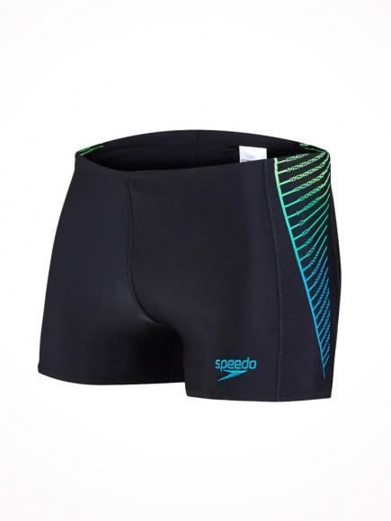 Speedo Color Blend Aquashort Groen-Zwart
