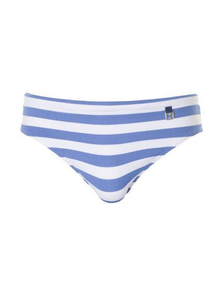 HOM Swim Mini Briefs - Rivages Blauw/Wit