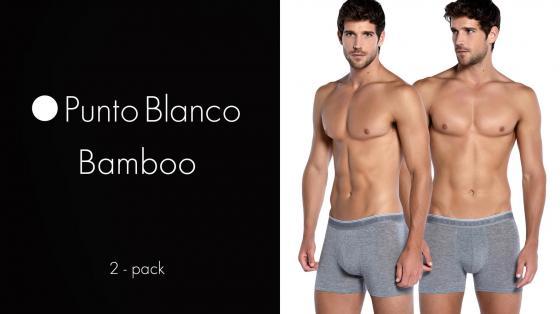 Punto Blanco 2p Boxer Briefs - Bamboo