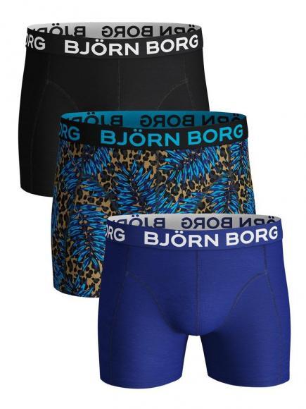 Bj�rn Borg Core Shorts - 3 pack kelp