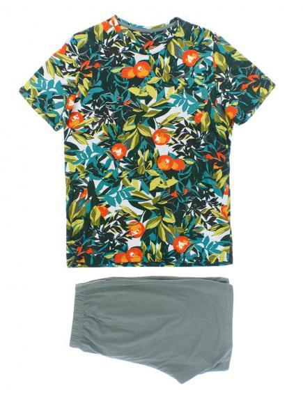 HOM Short Sleepwear - Tangerine Groen