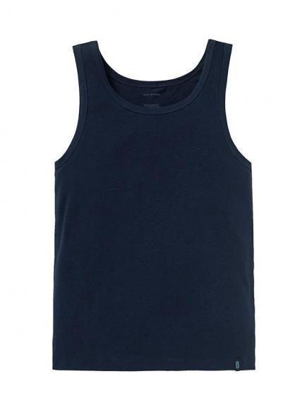 Schiesser 95/5 Hemd Blauw