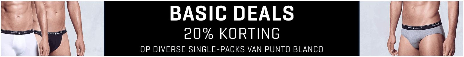 Basic Deals Punto-blanco