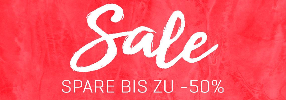 Sale- Bis 50% Rabatt