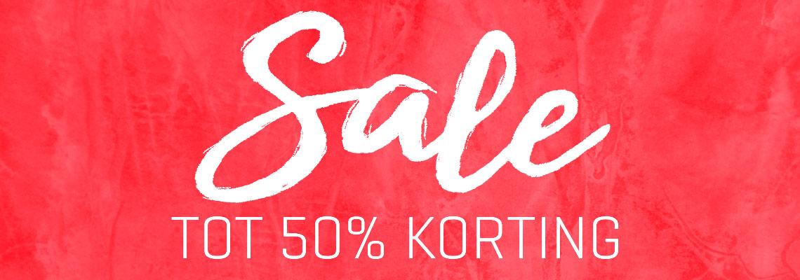 Sale - tot 50% korting!